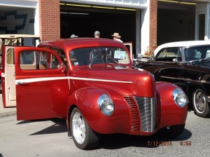 1940-49 1940 Ford 4/door Deluxe Larry & Debbie Renard The Dalles, OR