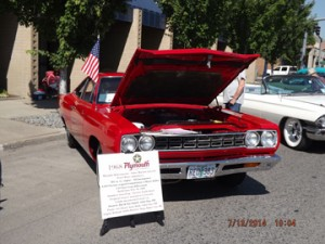 Baxter Auto Parts Sponsor Choice 1968 Plymouth Roadrunner Hal Smith John Day, OR