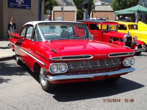 Best Host Car 1959 Chevy Bel Air Arlan & Mary Ann Miesner La Grande, OR