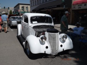 In Progress 1936 Ford Coupe Ed Ater La Grande, OR