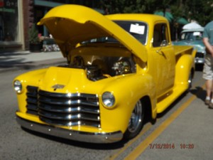 The Market Place Sponsor's Choice 1950 Chevy PU Charlie K& Stacye Williams Baker City, OR